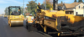 Asphalt paving the way, for you.